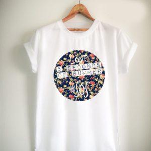5 second of summer Flower Unisex Tshirt