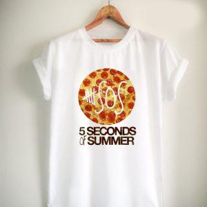 5SOS Pizza Unisex Tshirt