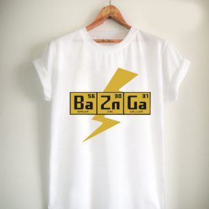 BAZINGA!- The Big Bang Theory Unisex Tshirt