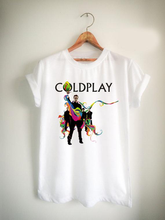 Coldplay Rock Band Unisex Tshirt