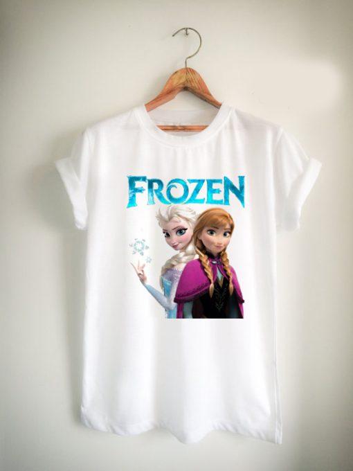 FROZEN princess anna and elsa Unisex Tshirt