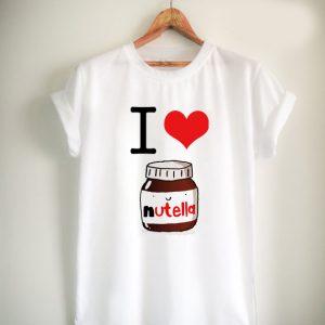 I Heart Nutella Unisex Tshirt