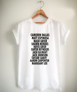 Magcon Player Name Unisex Tshirt