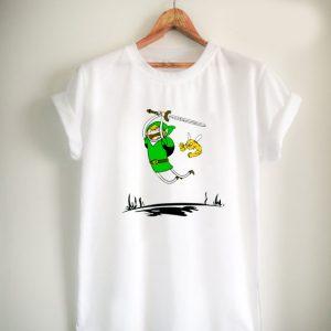 adventure time zelda antque irish green Unisex Tshirt