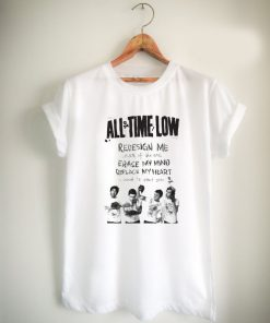 all time low lyric Unisex Tshirt