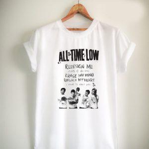 all time low lyric Unisex Tshirt