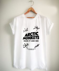 arctic Monkey Cover Album signature Unisex Tshirt
