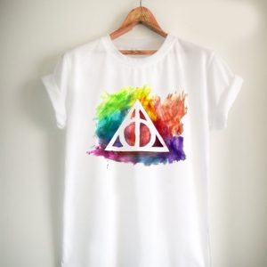 deathly hallows Unisex Tshirt