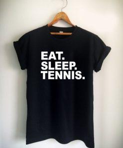 eat sleep tennis Unisex Tshirt