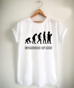 evolution man beer Unisex Tshirt