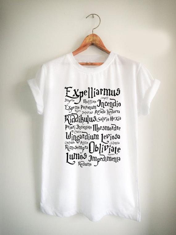 harry potter spell Unisex Tshirt