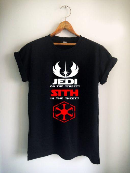 jedi on the steets stars war Unisex Tshirt