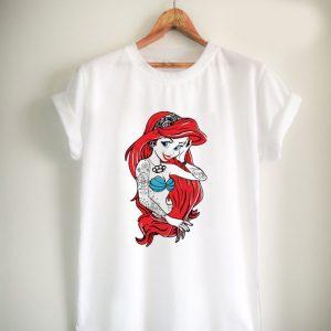 little mermaid tattoed Unisex Tshirt
