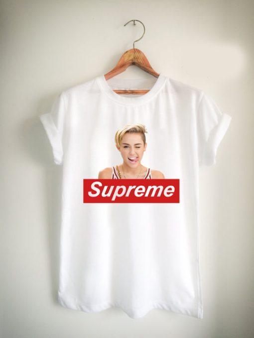 miley cyrus supreme Unisex Tshirt