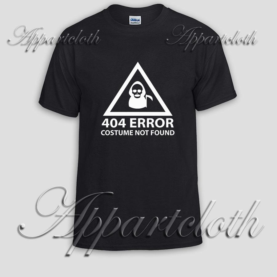 404 error costume Unisex Tshirt