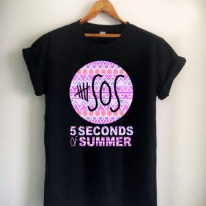 5 second of summer aztec Unisex Tshirt