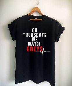 On Thursdays We Watch GREYS Unisex Tshirt