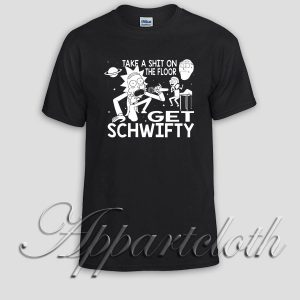 Rick and Morty Inspired Get Schwifty Unisex Tshirt
