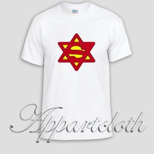 Superjew Jew Superman Comic Unisex Tshirt