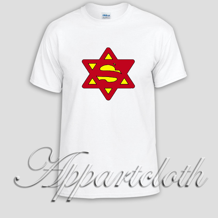 Superjew Jew Superman Comic Unisex Tshirt