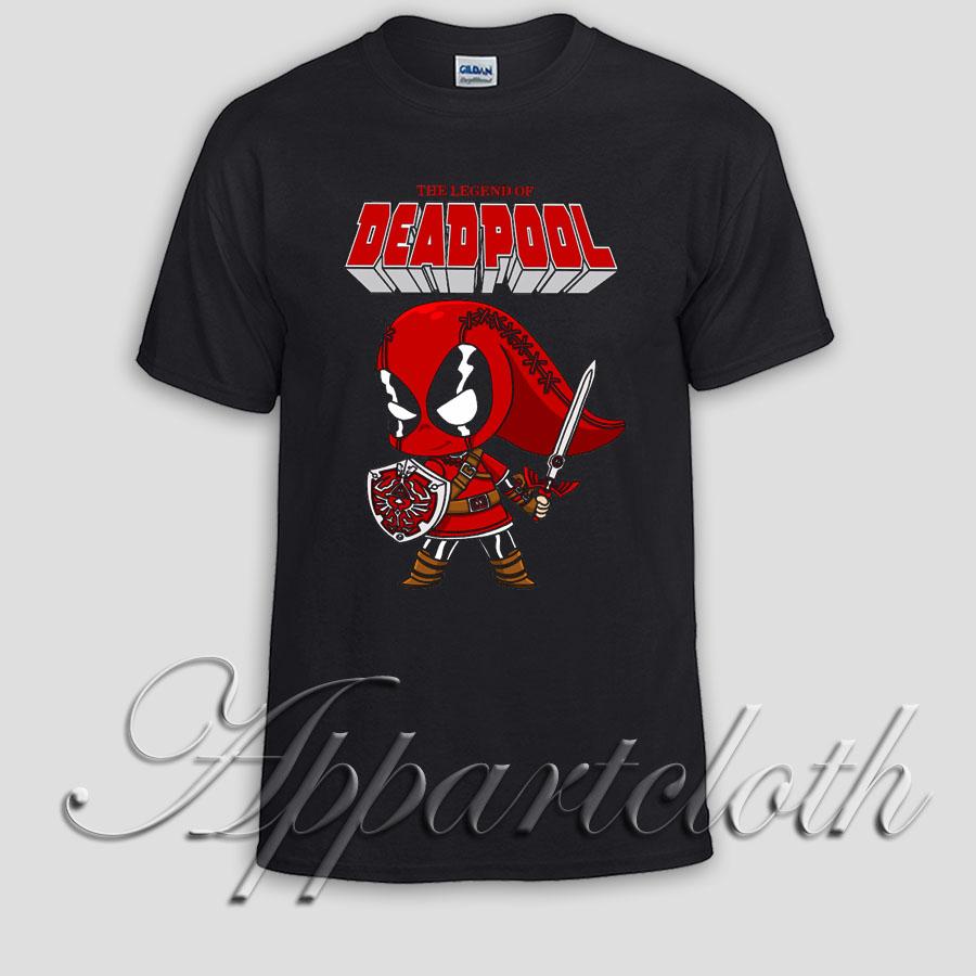THE LEGEND OF DEADPOOL Unisex Tshirt