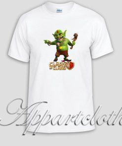 Clash Of Clans Goblin King Unisex Tshirt