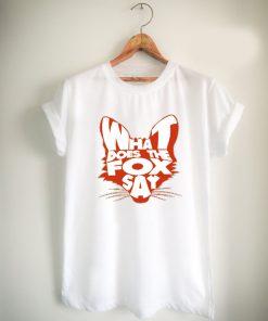 fox what does the fox say Unisex Tshirt