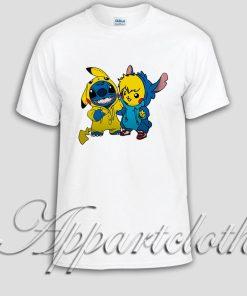 pikachu and stitch Unisex Tshirt