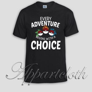 pokemon every adventure Unisex Tshirt