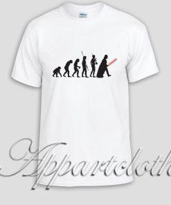 star wars evolution Unisex Tshirt