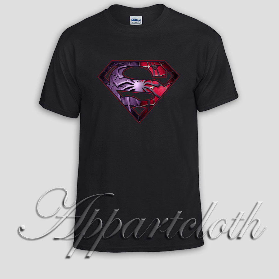 superman and spiderman Unisex Tshirt