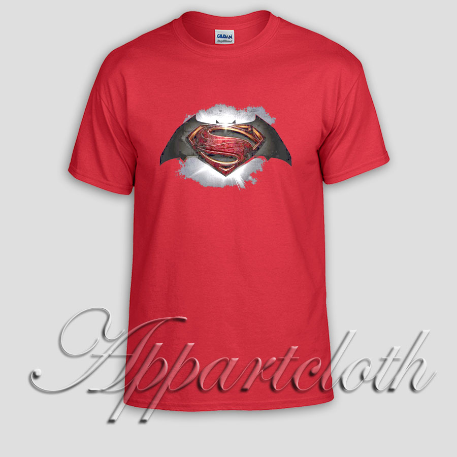 superman vs batman Unisex Tshirt