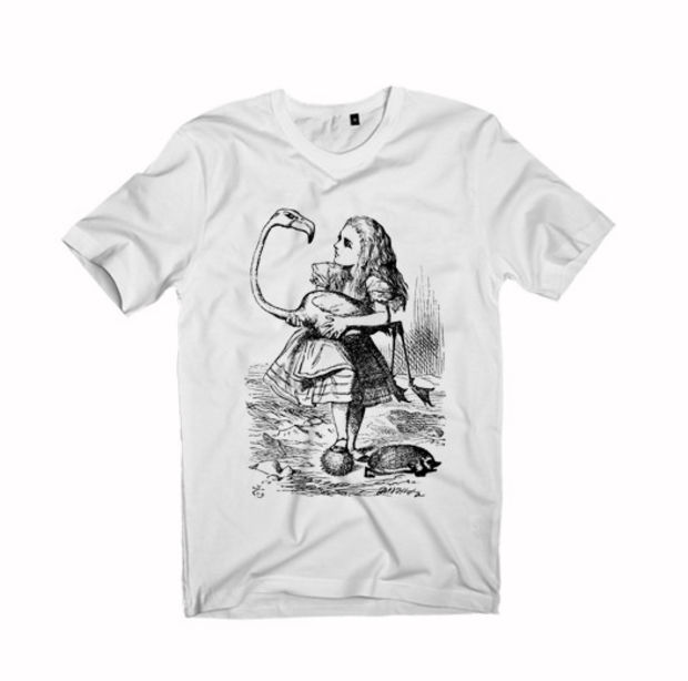 Alice in Wonderland Unisex Tshirt