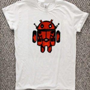 Android Pool Deadpool Unisex Tshirt