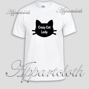 Crazy Cat Lady Unisex Tshirt