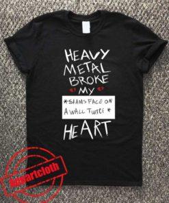 Fall Out Boy Centuries - Heavy Metal Broke My Heart Unisex Tshirt