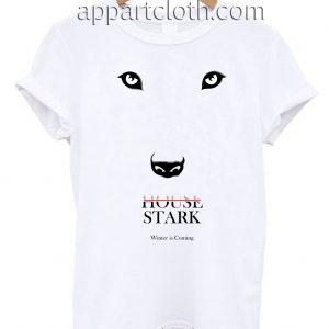 Game of Thrones House Stark Poster Unisex Tshirt