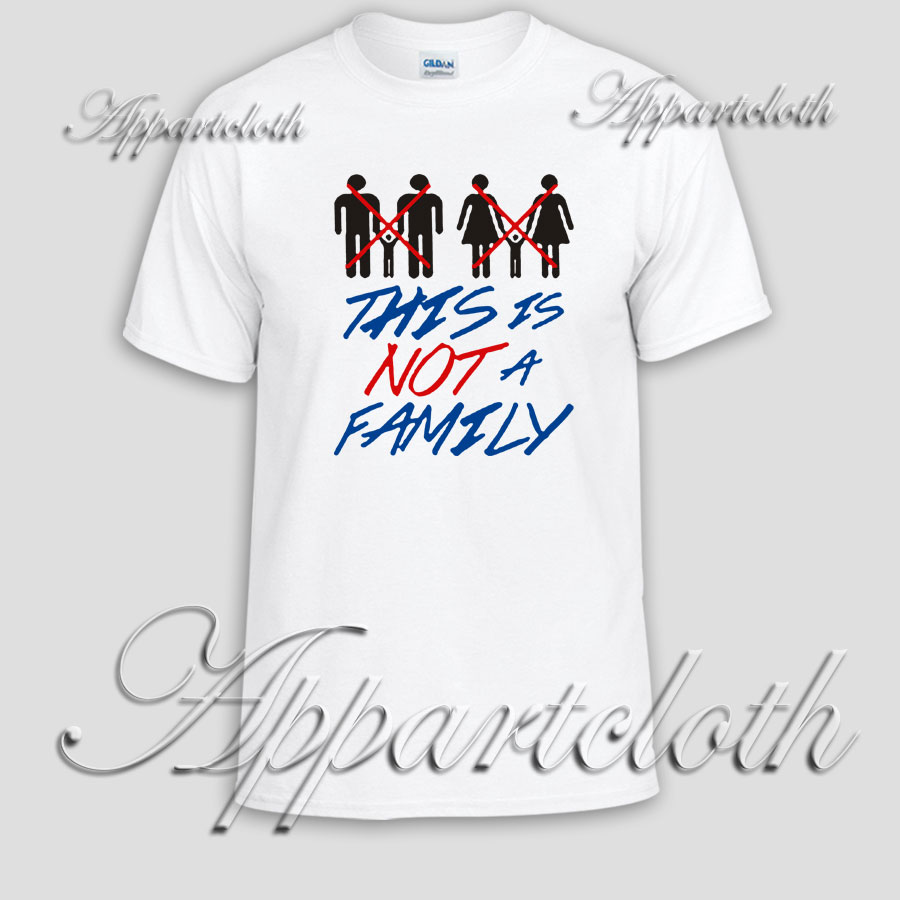 THIS IS NOT A FAMILY Unisex Tshirt