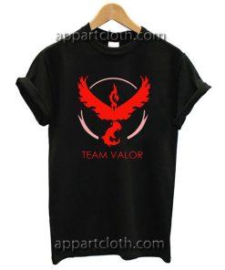 Team Valor Pokemon Go Unisex Tshirt