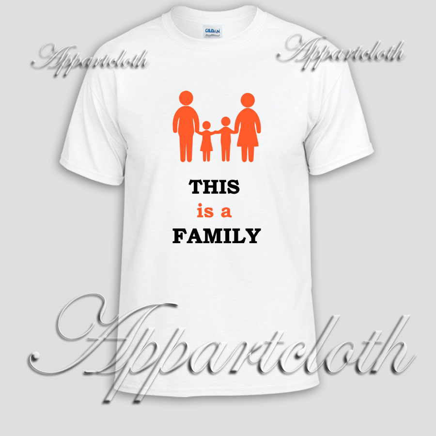 This is a FAMILY Unisex Tshirt