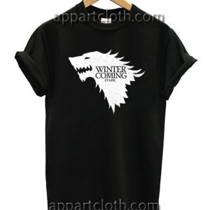 Winter is Coming Pimp Game of Thrones Unisex Tshirt