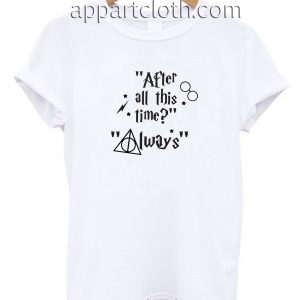 Always Harry Potter logo 03 Unisex Tshirt