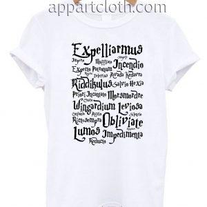 Harry Potter Magic Spell Unisex Tshirt