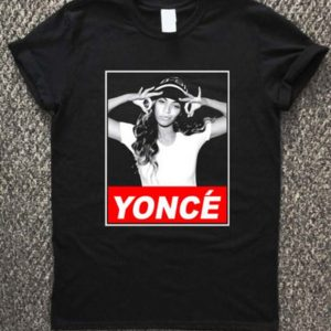 Beyonce Yonce Obey Style Unisex Tshirt
