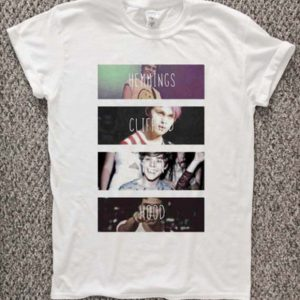 5 Second Of Summer Collage T-Shirt Unisex Adults Size S to 2XL