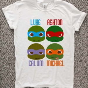 5 second of summer NINJA Turtle T-Shirt Unisex Adults Size S to 2XL