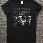 5 second of summer amnesia T-Shirt Unisex Adults Size S to 2XL