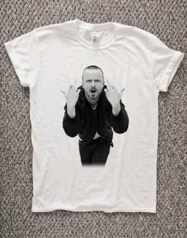 Aaron Paul T-Shirt Unisex Adults Size S to 2XL