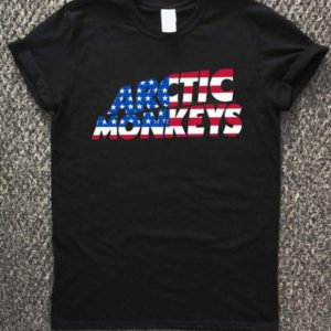 arctic monkeys american flag T-Shirt Unisex Adults Size S to 2XL