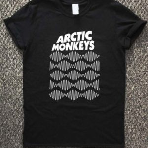 arctic monkeys uk flag t-shirt unisex adults size s to 2xl